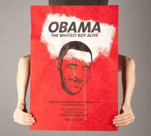 Obama Lecture Poster