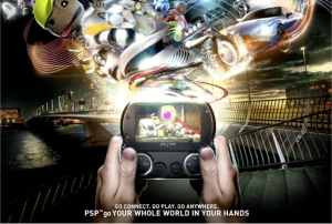 PSP Go poster