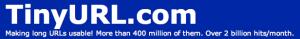 Tiny URL banner