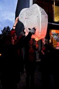 Sky Lantern's Launch Photo