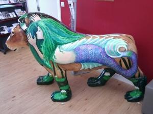 Pride in Bournemouth Lion Photo