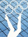 Anthea Hamilton - Divers - Olympics Poster