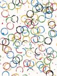 Rachel Whiteread - LOndOn 2O12 - Olympics Poster