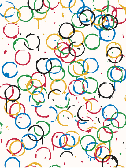Rachel Whiteread - LOndOn 2O12 - Olympics Poster