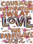 Bob and Roberta Smith - LOVE - Paralympics Poster