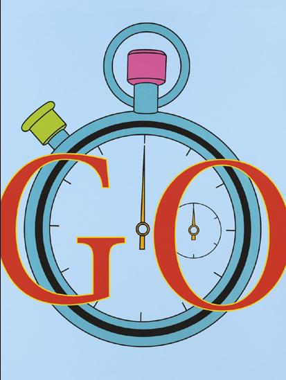 Michael Craig Martin - GO - Paralympics Poster