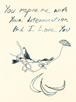 Tracey Emin - Birds 2012 - Paralympics Poster