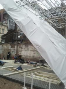 Dalston House Scaffolding