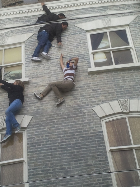 Dalston House Falling